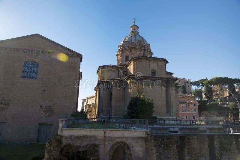 城市意大利老罗马 免版税图库摄影