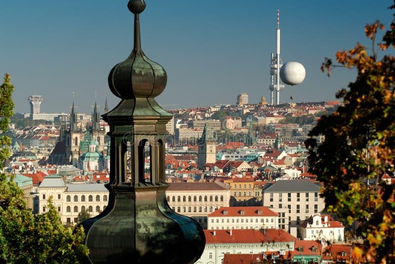 城市捷克布拉格共和国 免版税图库摄影