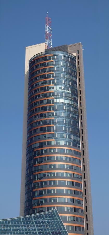城市摩天大楼维尔纽斯 图库摄影