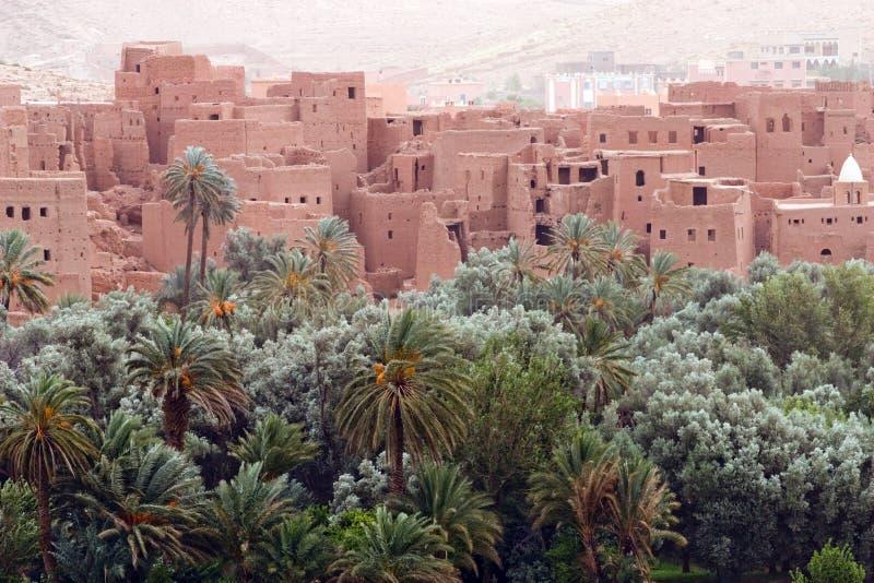 城市摩洛哥老 免版税库存图片