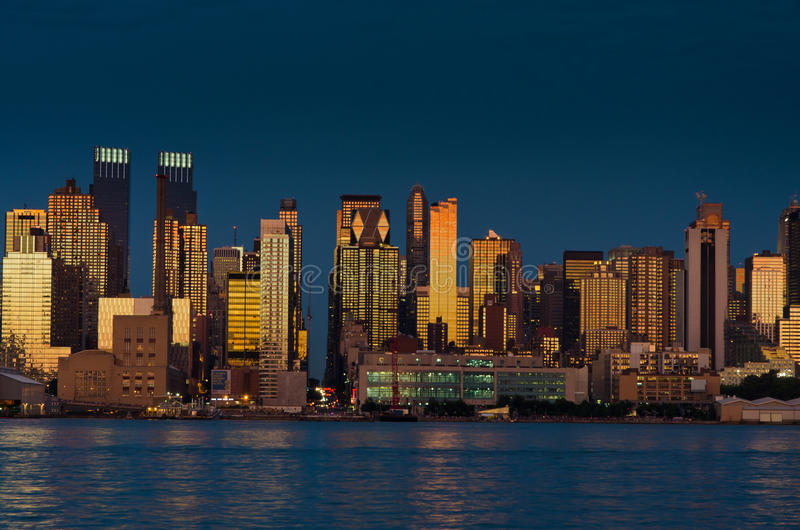 城市新的地平线约克 库存照片