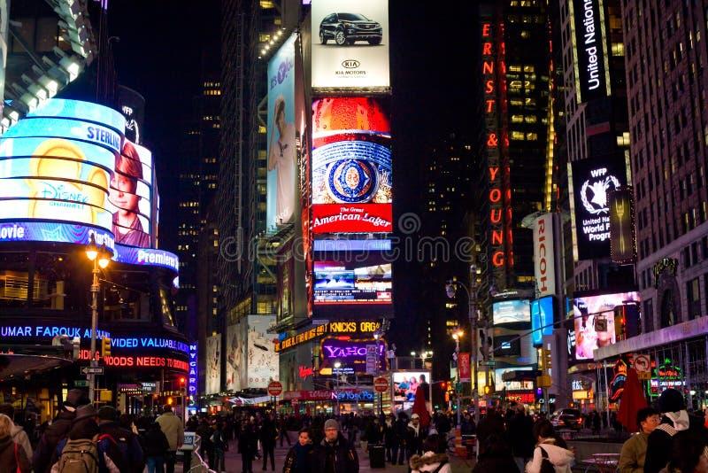城市新的晚上正方形计时约克 免版税库存照片