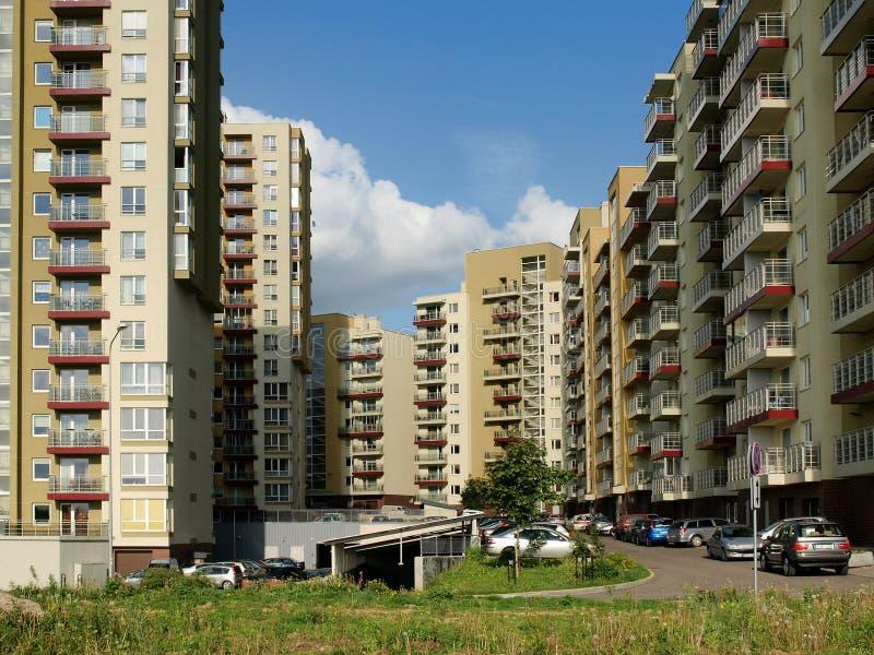 城市新的维尔纽斯 免版税库存图片