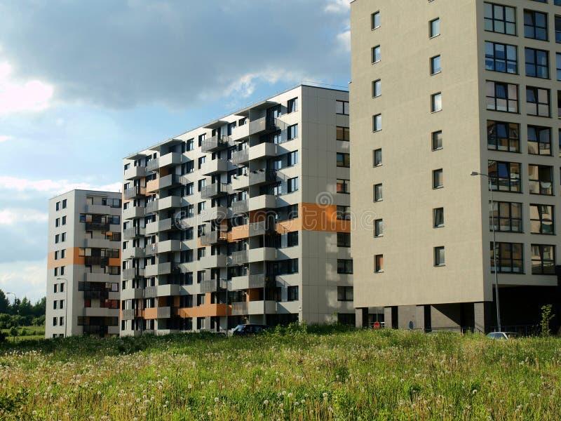 城市新的维尔纽斯 库存照片