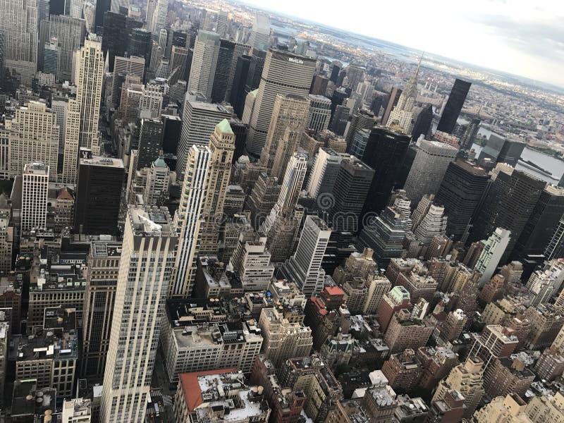 城市新的视图约克 库存照片