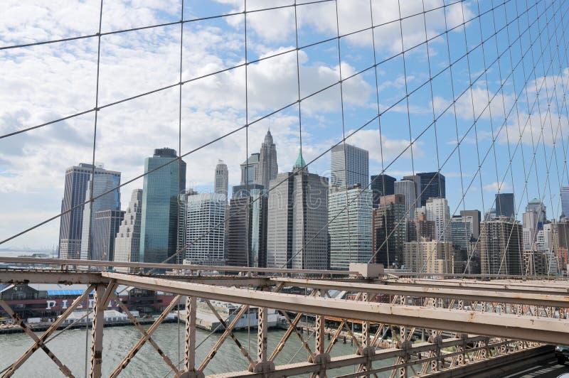 城市新的视图约克 免版税图库摄影