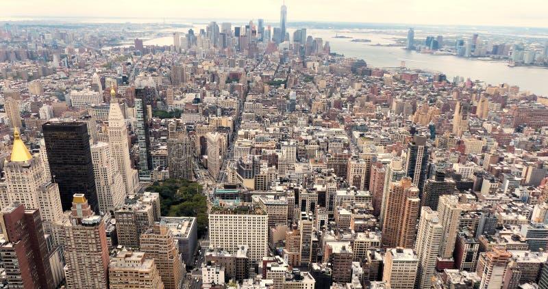 城市新的视图约克 库存图片