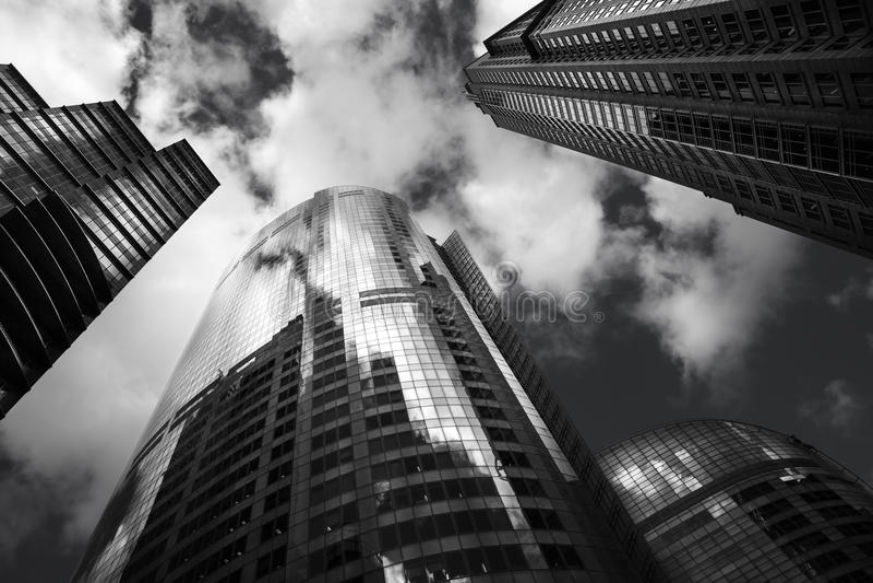 城市早晨夏天悉尼 免版税图库摄影