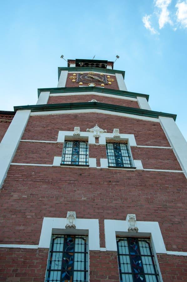 城市时钟 免版税库存照片
