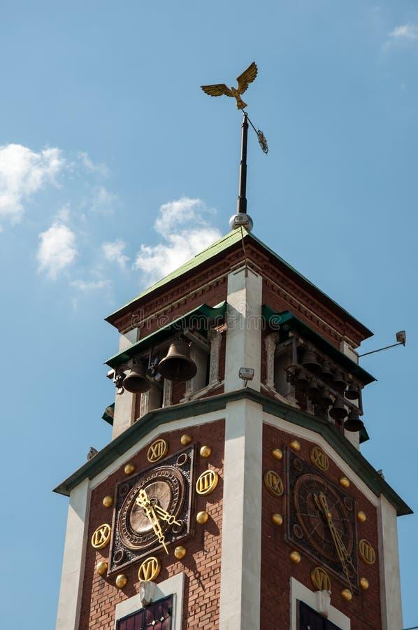 城市时钟 库存图片