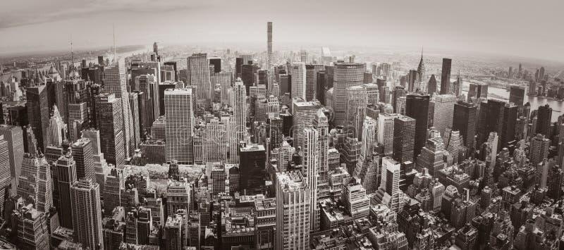 城市曼哈顿新的全景约克 免版税库存图片