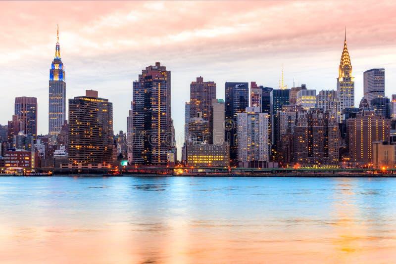 城市曼哈顿纽约 美国 库存图片