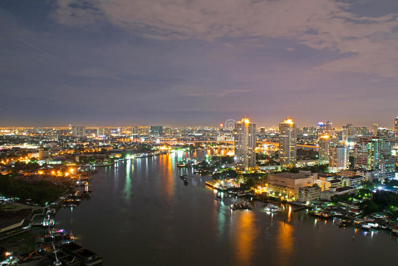城市曼谷 库存图片