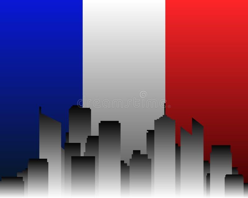 城市标志法国 皇族释放例证