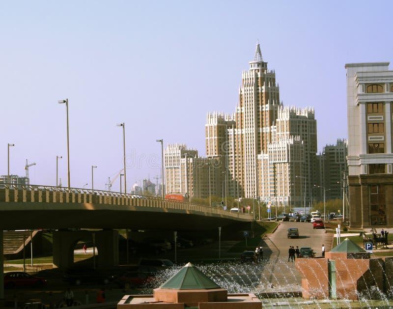 城市横向 免版税库存图片