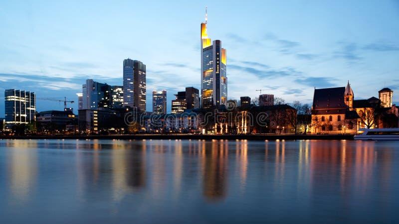 城市法兰克福德国 免版税图库摄影
