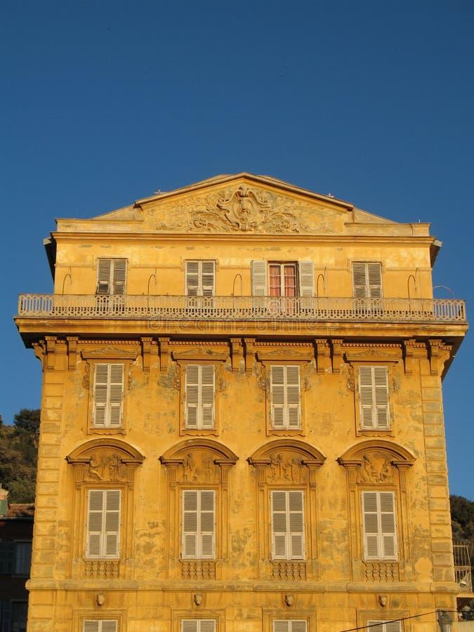 城市法国好的里维埃拉 免版税库存照片
