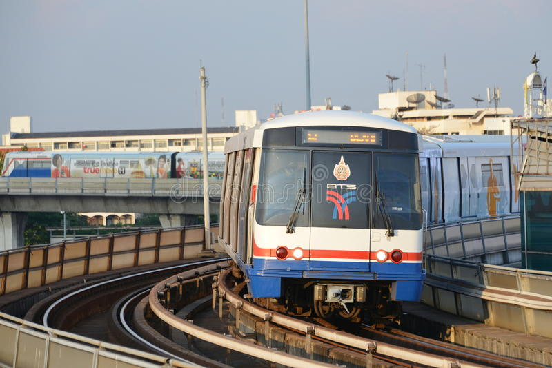 城市火车 库存图片