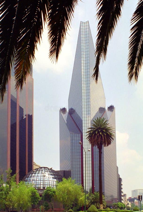 城市现代的墨西哥 免版税库存照片
