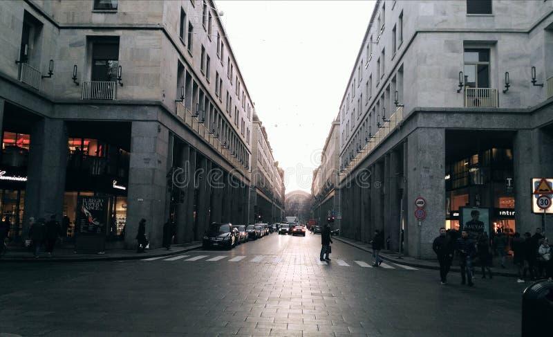 城市的中心 库存图片