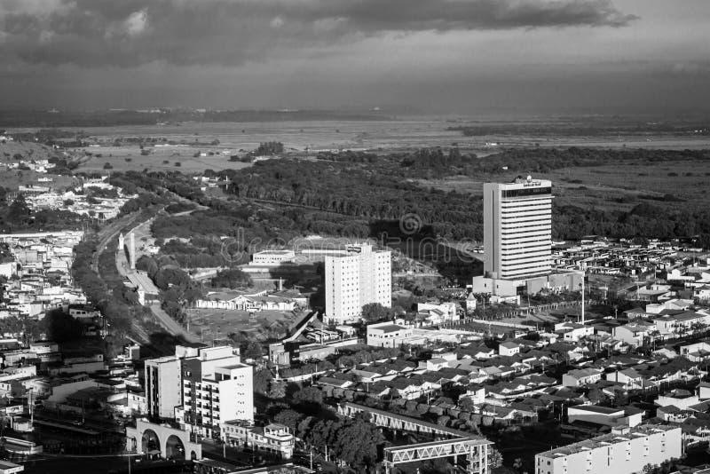 城市的好的看法 库存照片