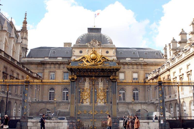 城市的宫殿-巴黎 库存照片