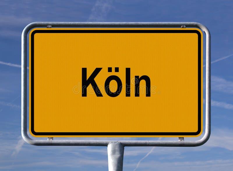 城市科隆香水项德国将军符号 免版税图库摄影