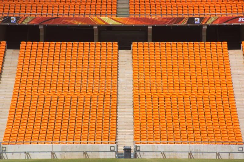 城市约翰内斯堡足球 免版税库存照片