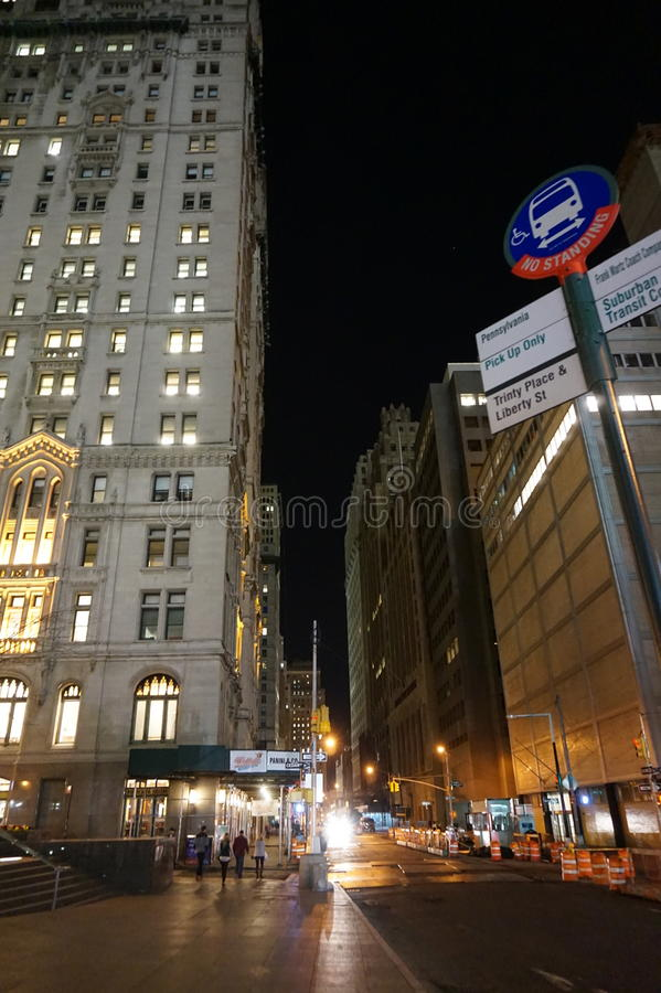 城市纽约 免版税图库摄影