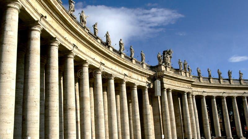 城市罗马梵蒂冈 库存照片