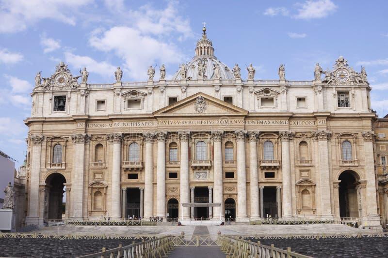 城市罗马梵蒂冈 图库摄影