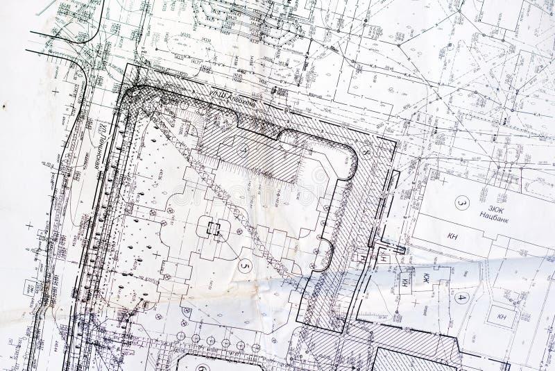 城市老计划  库存照片