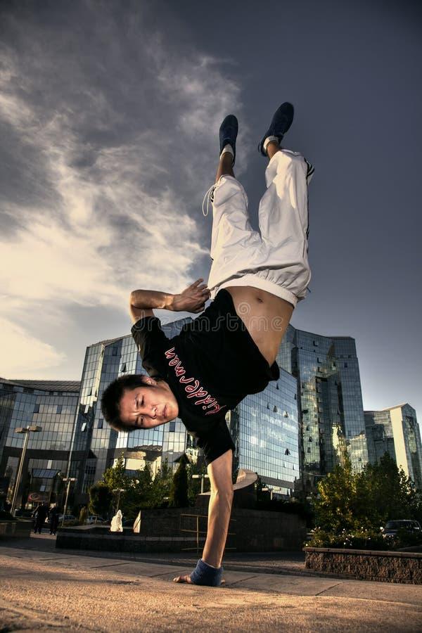 城市舞蹈演员 免版税库存照片