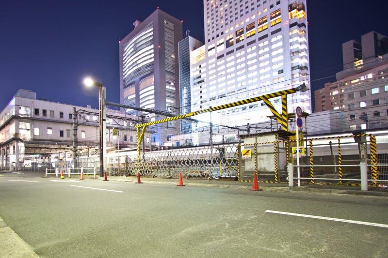 城市行业东京 免版税库存照片