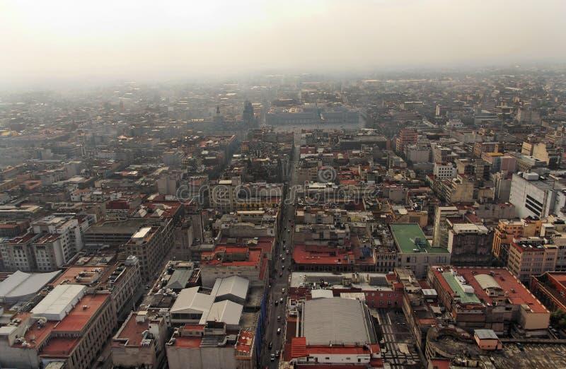 城市街市墨西哥 免版税库存照片