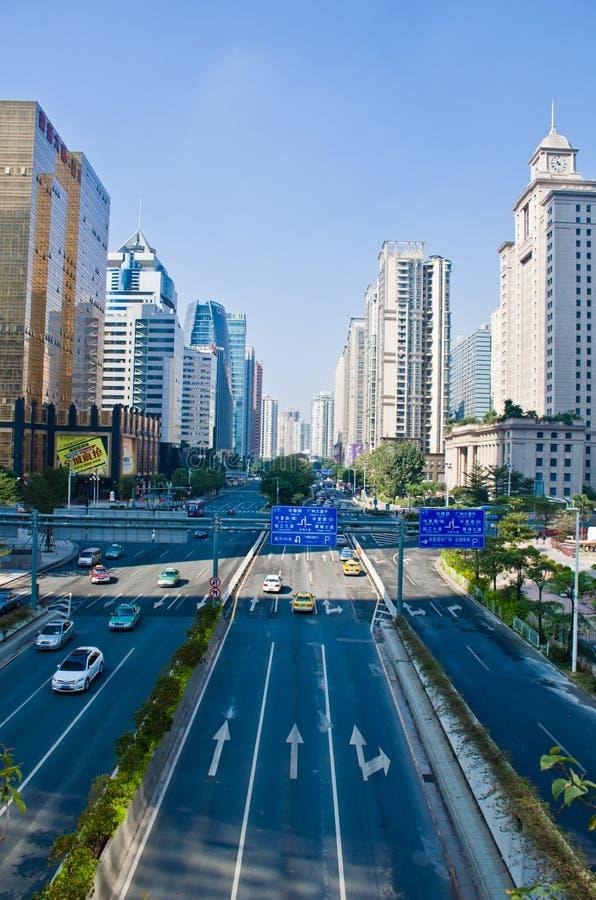 城市街道广州 库存图片