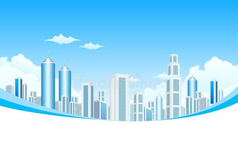 城市覆盖现代新 向量例证