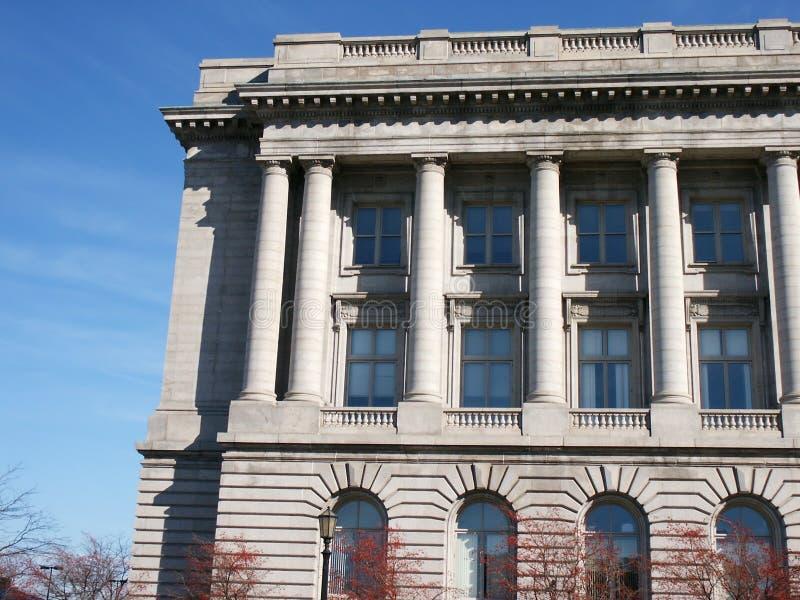 城市详细资料大厅 免版税库存照片