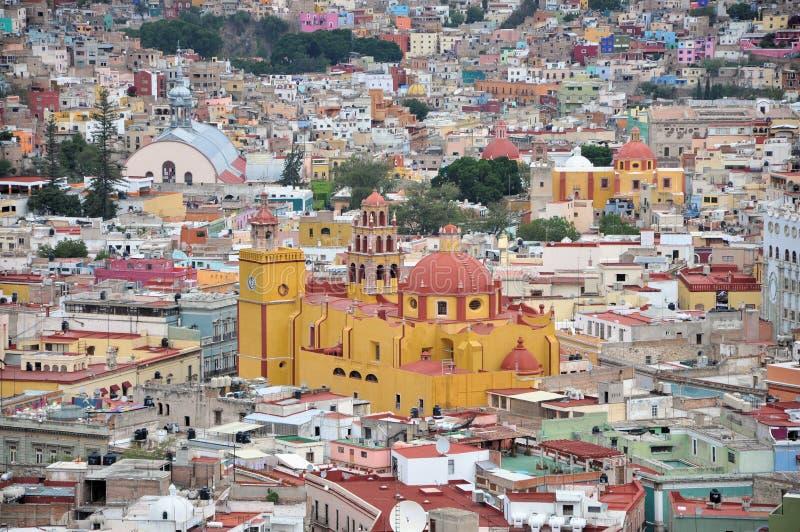 城市详细资料guanajuato 免版税库存图片