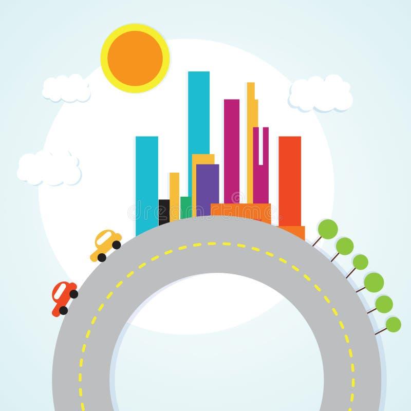 Download 城市象 向量例证. 插画 包括有 日落, 要素, 天空, 结构, 城市, 布琼布拉, 都市, 场面, 商业 - 30330841