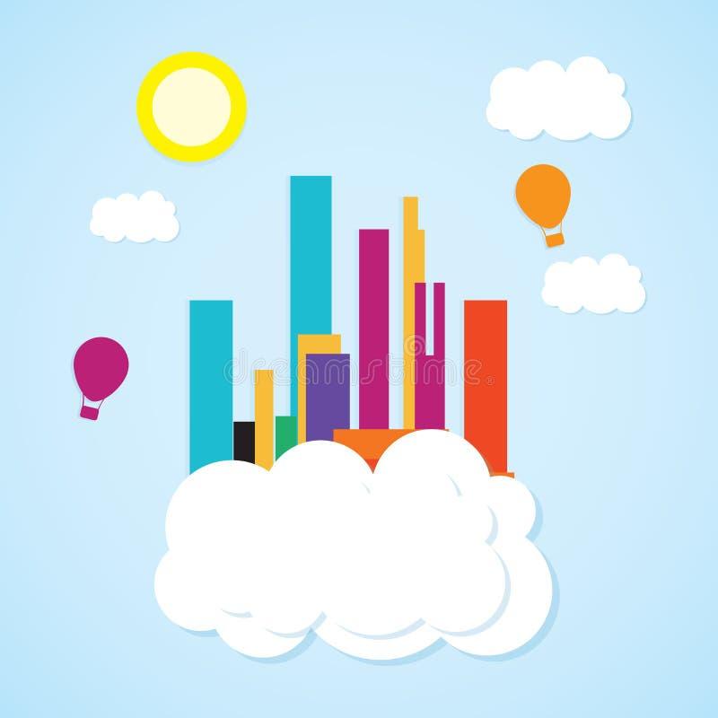 Download 城市象 向量例证. 插画 包括有 结构, 都市风景, 旅行, 例证, 街道, 街市, 日落, 现代, 商业 - 30330898