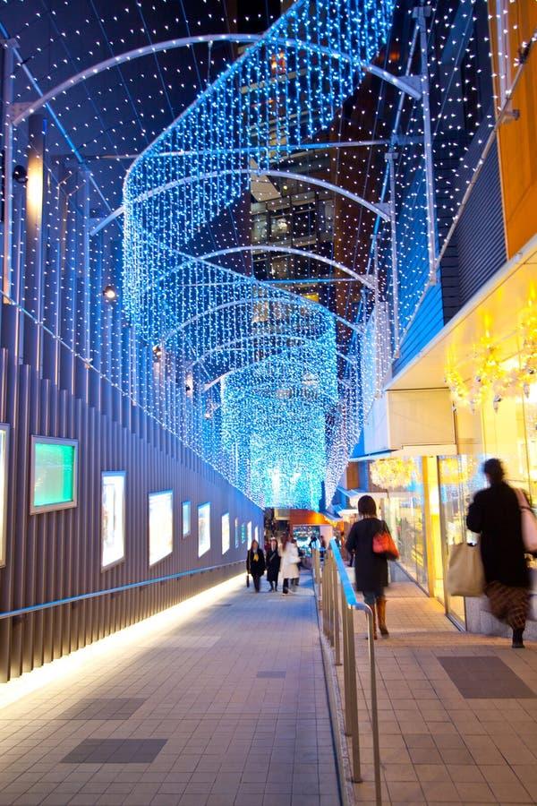 城市购物东京 图库摄影
