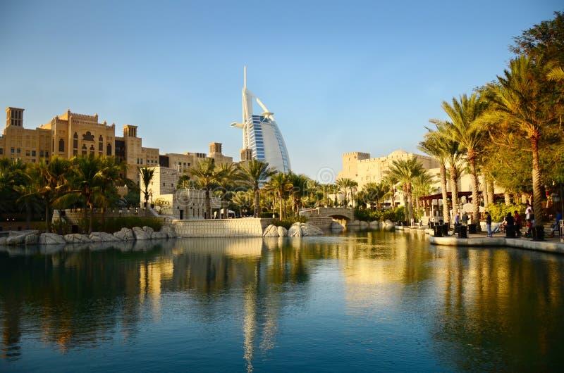 城市迪拜uea 图库摄影