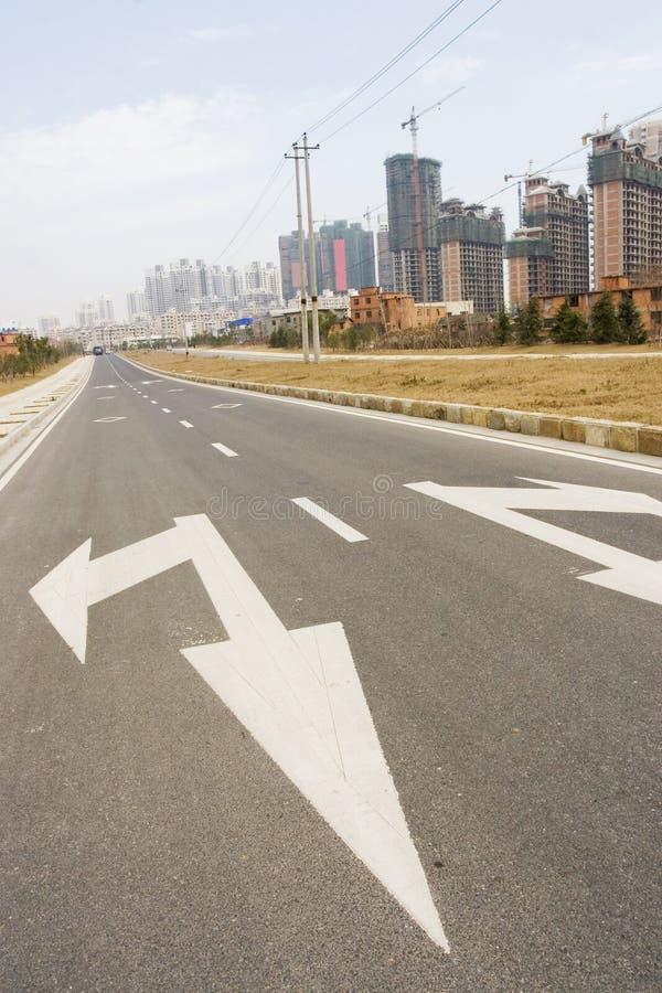城市道路 图库摄影