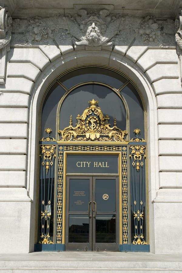 城市门大厅主要 免版税图库摄影