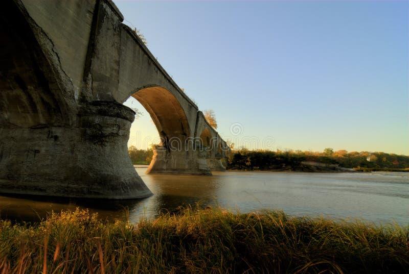 城市间的桥梁 免版税库存照片