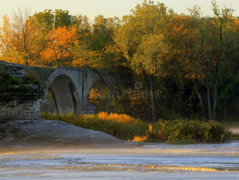 城市间的桥梁 免版税库存图片