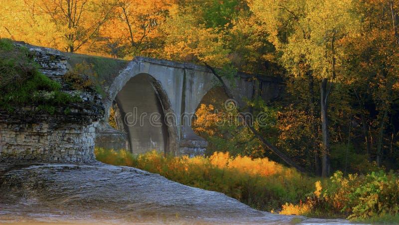 城市间的桥梁 库存照片