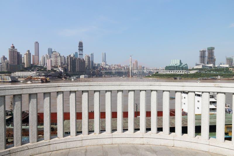 城市阳台 库存照片