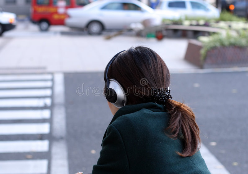 城市音乐 免版税库存图片